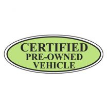 Certified Pre-Owned Oval