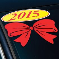 Holiday Decal - Bow