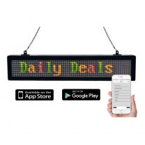 LED Message Sign w/Bluetooth
