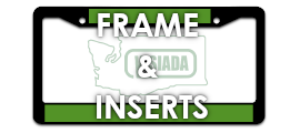 Order your Frames and Inserts