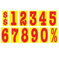"""5.5"""" Sticker Red/Yellow *Special Order*"""
