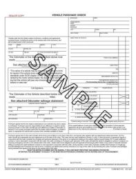 Vehicle Purchase Order